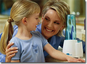 family using germ terminator